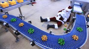 Erhöhtes Versandaufkommen im Weihnachtsgeschäft
